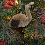 Heron Bristle Brush Ornament