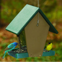 Recycled Hopper Bird Feeder 1.5 qt