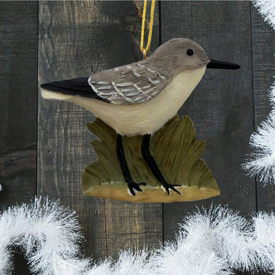Sandpiper Bird Tree Ornament