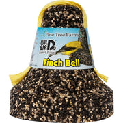 Finch Hanging Bird Seed Bell 18 oz