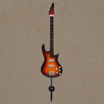 5 String Bass Guitar Wall Hook Orange