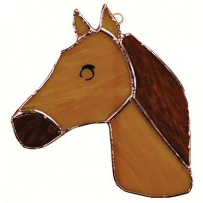 Horse Stained Glass Suncatcher