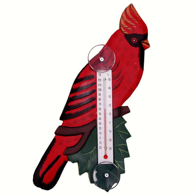 Cardinal Window Thermometer Small