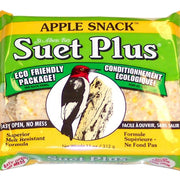 Apple Snack Suet Plus Cake 11 oz - 3 pk