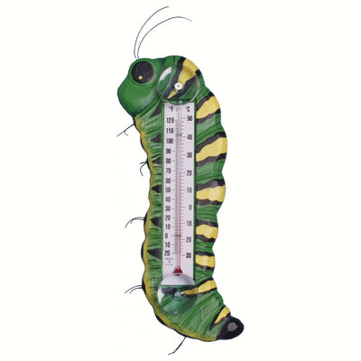 Caterpillar Window Thermometer Small