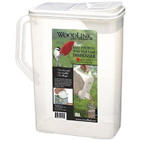 Dual-Pour Bird Seed Container 8 Quart
