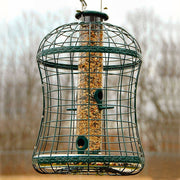 Caged Mixed Seed Tube Bird Feeder