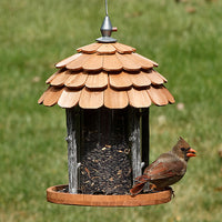 Gazebo Wood Wild Bird Feeder
