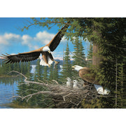 Nesting Eagles 1000 pc Puzzle
