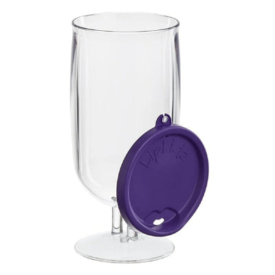 BrewTail Glass w/Lid Liplidz 20 oz