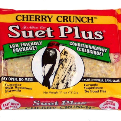 Cherry Crunch Suet Plus Cake 11 oz - 3 pk