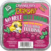 Cranberry Delight No Melt Suet Dough - 3 pk
