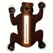 Climbing Bear Window Thermometer Small