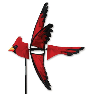 Flying Cardinal Wind Spinner 25 inch