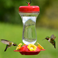 Top Fill Glass Hummingbird Feeder