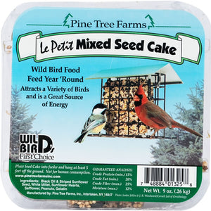 Le Petit Mixed Seed Cake 9 oz - 3 pack