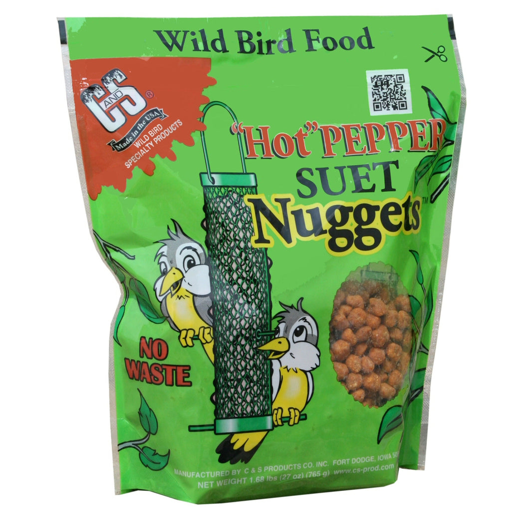 Hot Pepper Suet Nuggets 27 oz - Momma's Home Store