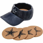 Dallas Cowboys Team Cap & Coaster Set