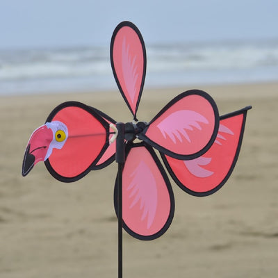 Flamingo Baby Staked Wind Spinner