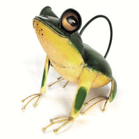 Tree Frog Watering Can Sculpture