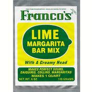 Franco's Lime Margarita Bar Mix Qt Box of 12