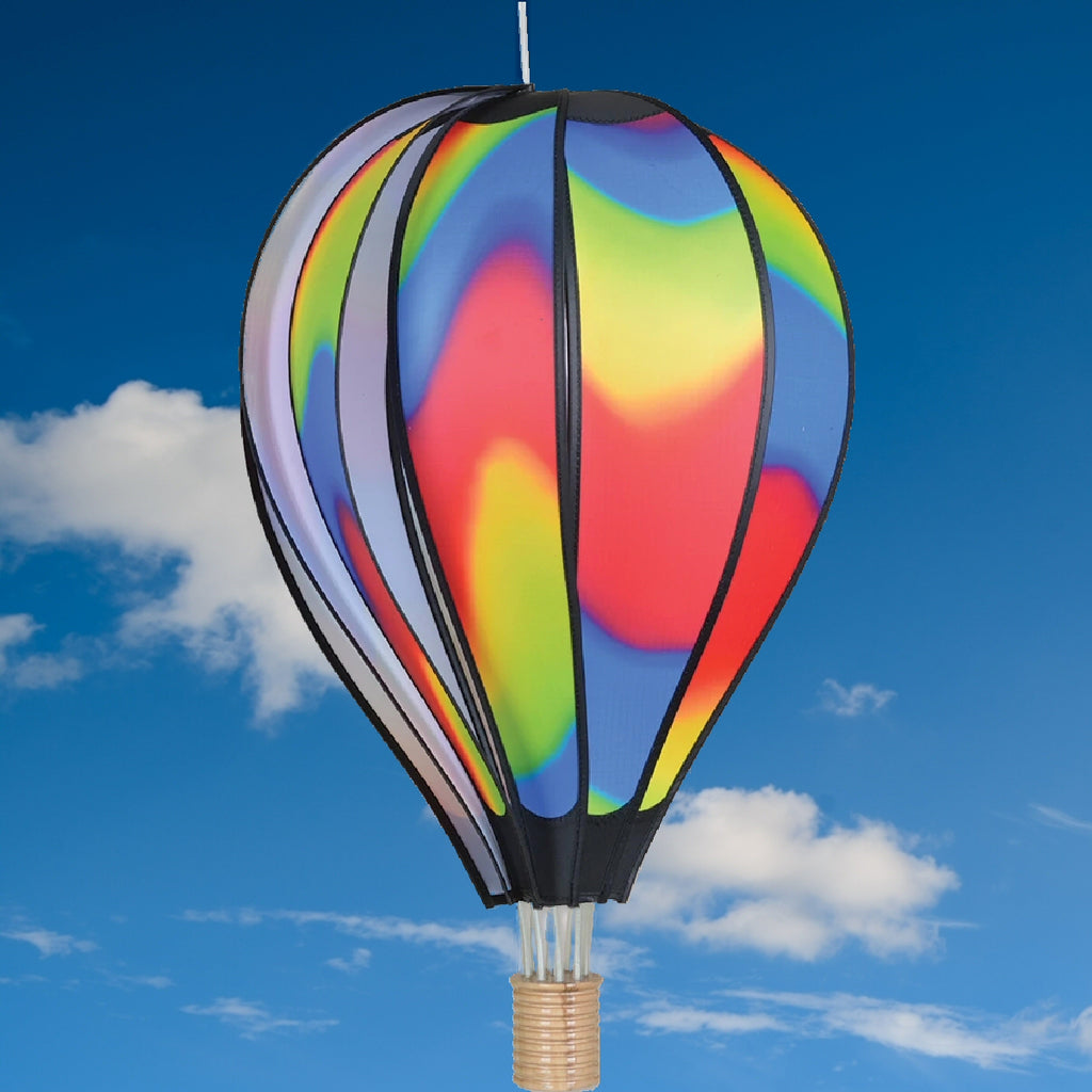 Wavy Gradient Hot Air Balloon Spinner 26 inch