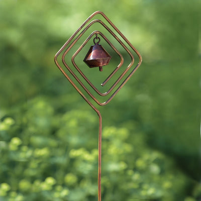 Diamond Bell Ornament Garden Stake