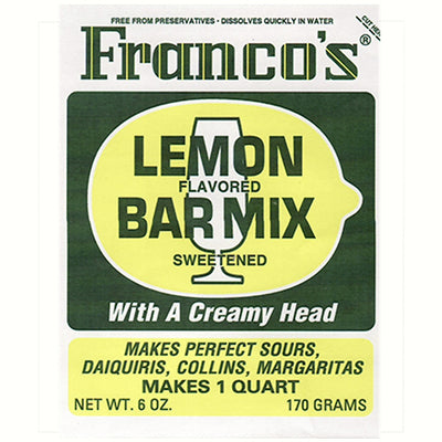 Franco's Lemon Bar Mix Qt Box of 12