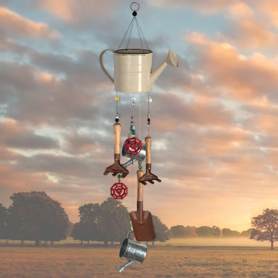Gardening Time Retro Wind Chime