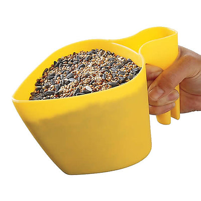 Scoop'N Fill Bird & Pet Food Scoop
