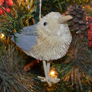 Seagull Bristle Brush Ornament
