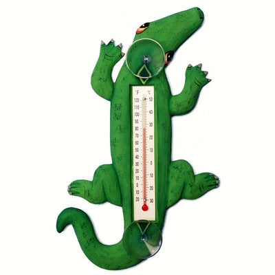 Alligator Window Thermometer Small