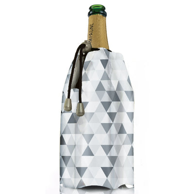 Active Cooler Champagne Chiller Diamond Gray