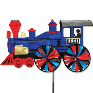 Steam Engine Train Wind Spinner 32 inch