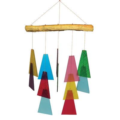 Trapezoid Glass Wind Chime