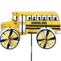 School Bus Wind Spinner 29 inch
