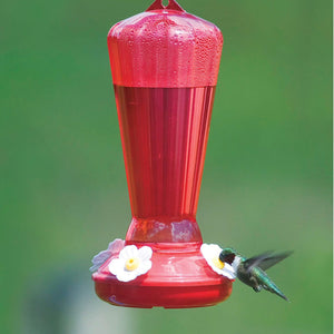 Hollyhock Hummingbird Feeder