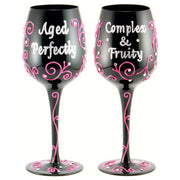Complex & Fruity Wineglass