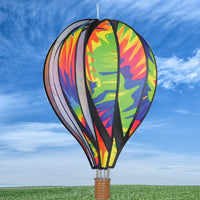Tie Dye Hot Air Balloon Spinner 22 inch
