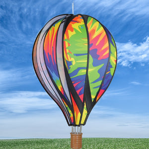 Tie Dye Hot Air Balloon Spinner 22 inch - Momma's Home Store