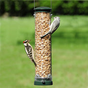 Quick Clean Peanut Mesh Bird Feeder - Spruce