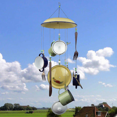 Sunday Brunch Metal Wind Chime