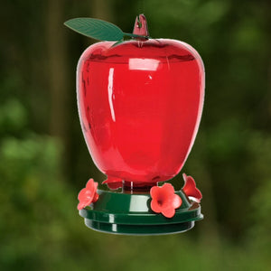 Red Apple Hummingbird Feeder - Plastic 40 oz - Momma's Home Store