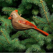 Cardinal Female Tree Ornament