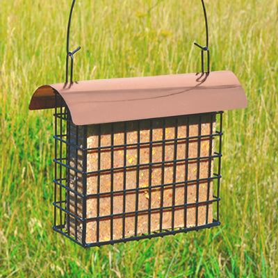 Deluxe Double Suet Cage w/Copper Roof