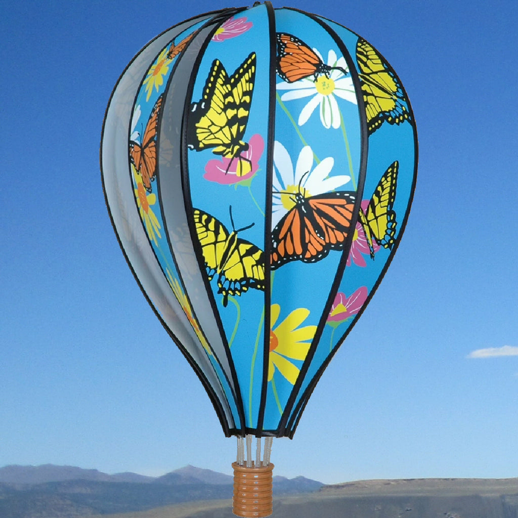 Butterflies Hot Air Balloon Spinner 22 inch