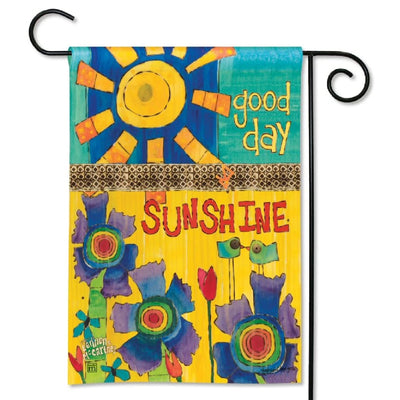 Good Day Sunshine Garden Flag