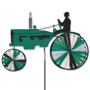 Tractor Wind Spinner Green 38 inch