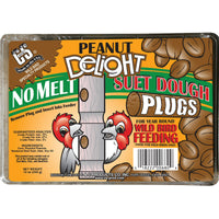 Peanut Delight Suet Dough Plugs 12 oz - 3 pk - Momma's Home Store