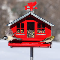 Squirrel Be Gone II Country Style Bird Feeder